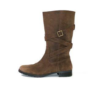 Ralph Lauren Women's Brown Suede Boots Size 10B